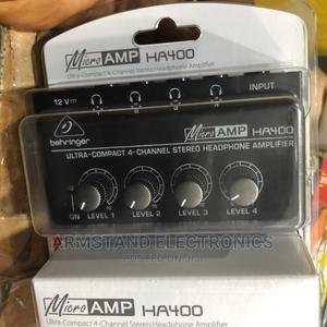 Headphone Amplifier Behringer Micro-Amp Ha400   Audio & Music Equipment for sale in Lagos State, Surulere