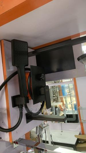 Black 5ways Conduit Shower Set   Plumbing & Water Supply for sale in Lagos State, Lekki