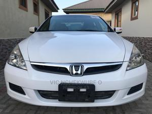 Honda Accord 2007 White   Cars for sale in Lagos State, Ajah