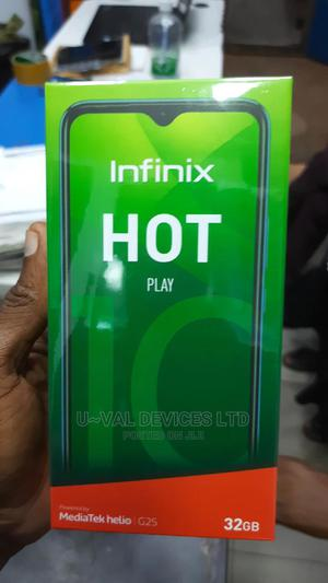 New Infinix Hot 10 Play 32 GB Black   Mobile Phones for sale in Lagos State, Ikeja