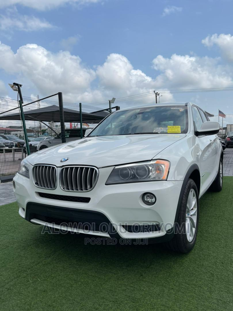 BMW X3 2013 xDrive28i White
