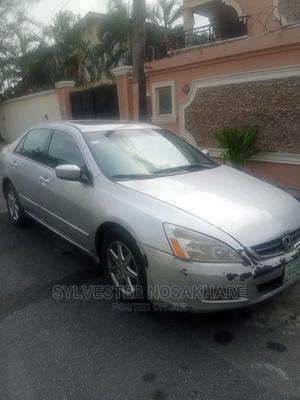 Honda Accord 2005 2.4 Type S Automatic Silver | Cars for sale in Lagos State, Magodo