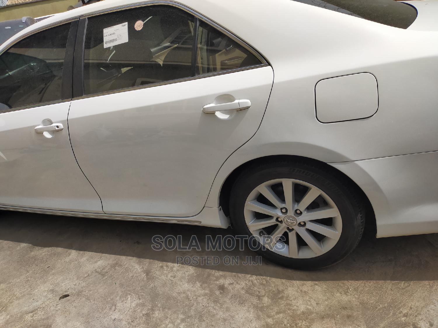 Toyota Camry 2012 White   Cars for sale in Isolo, Lagos State, Nigeria