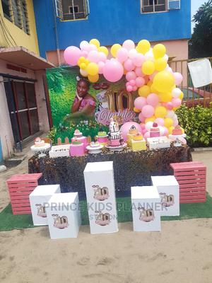 Mask Tea Party Cake Backdrop | Party, Catering & Event Services for sale in Lagos State, Lekki