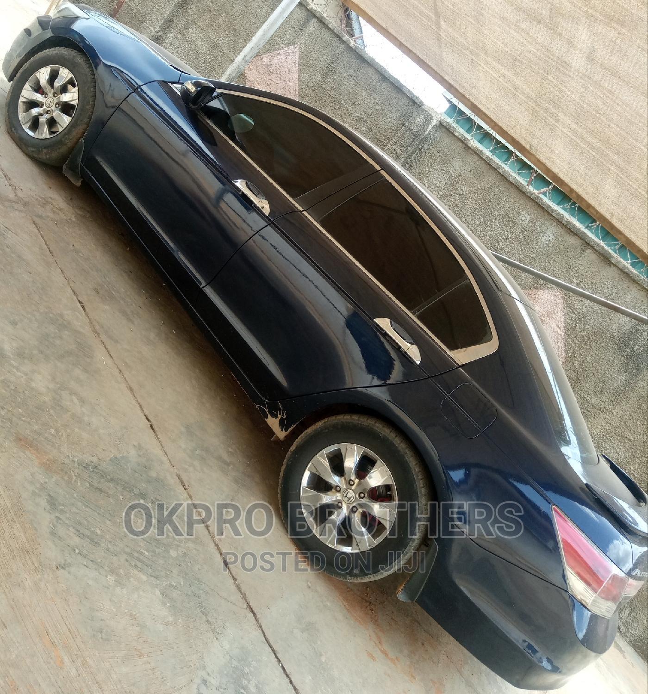 Honda Accord 2008 2.4 EX Automatic Blue   Cars for sale in Ibadan, Oyo State, Nigeria