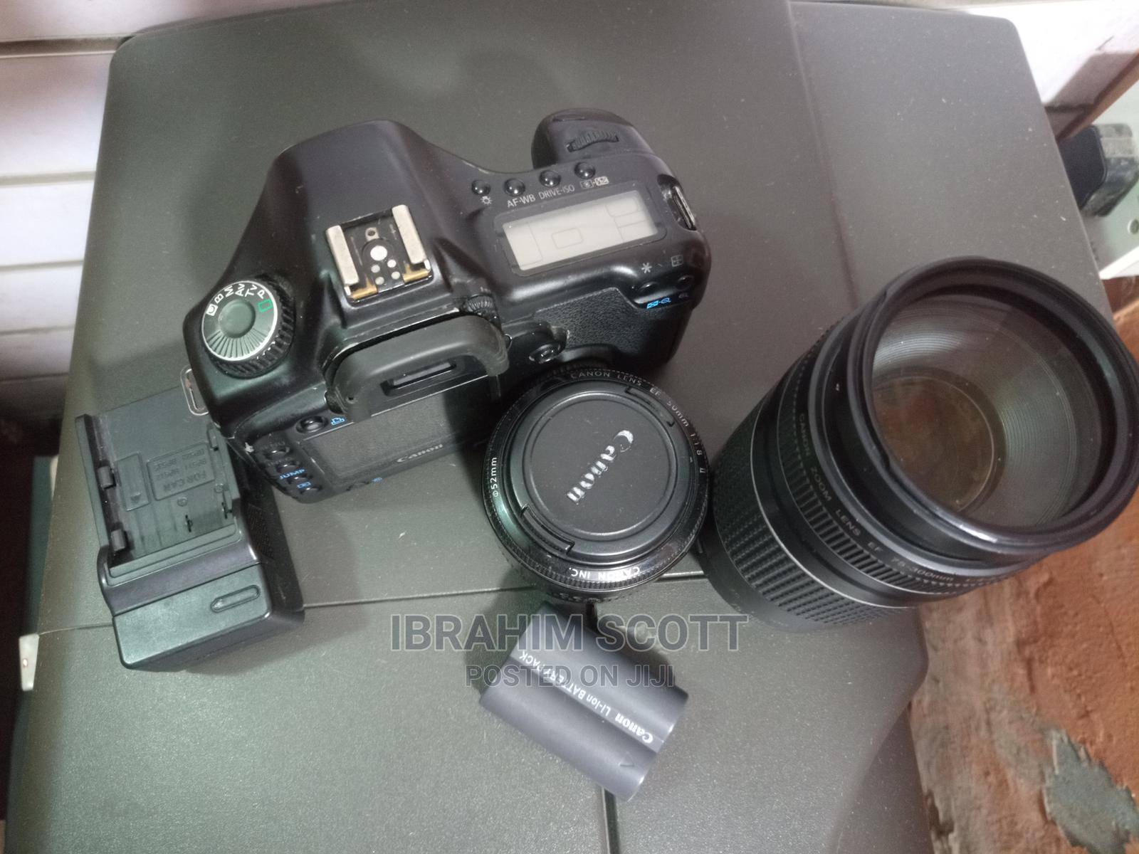Cannon EOS 5D (Black) | Photo & Video Cameras for sale in Yaba, Lagos State, Nigeria