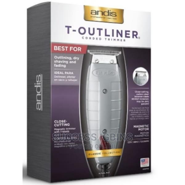 Andis T-Outliner Trimmer Coded Trimmer