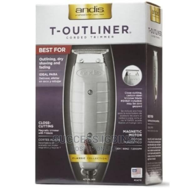 Andis T-Outliner Trimmer Coded Trimmer | Tools & Accessories for sale in Agege, Lagos State, Nigeria