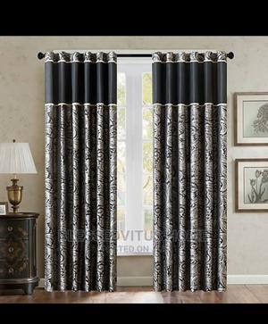 Blackout Curtain With Nice Design | Home Accessories for sale in Lagos State, Lagos Island (Eko)
