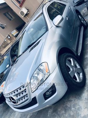 Mercedes-Benz M Class 2009 ML350 AWD 4MATIC Silver   Cars for sale in Lagos State, Ikeja