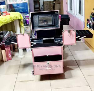 Glamorous Pro Makeup Box Equipped With Mirror   Tools & Accessories for sale in Lagos State, Agege