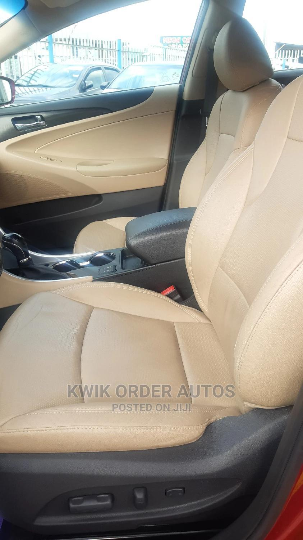 Archive: Hyundai Sonata 2013 Red