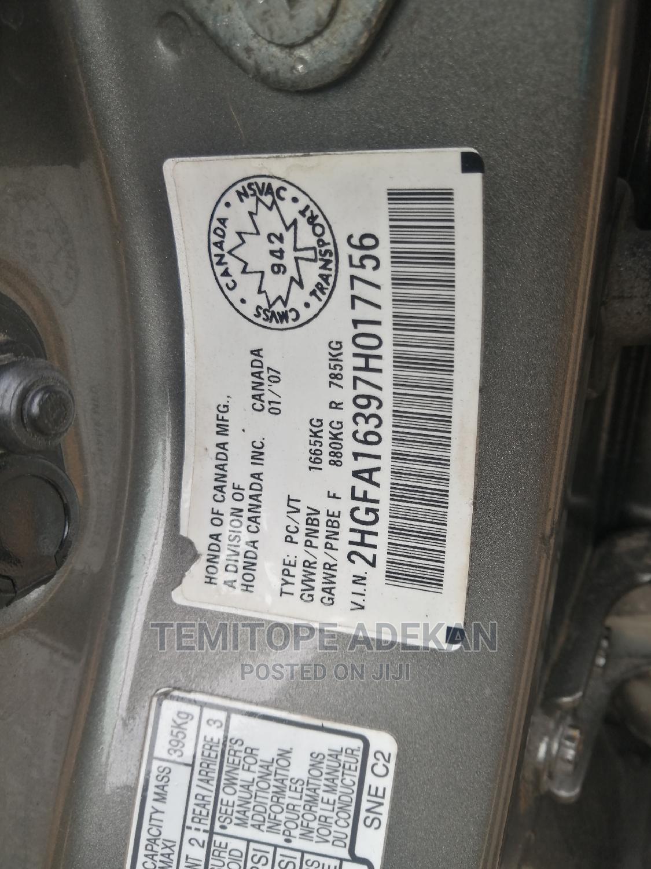 Archive: Honda Civic 2007 1.8i VTEC Gray
