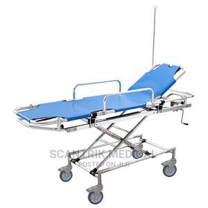 Emergency Hospital Aluminum Alloy Trolley Stretcher   Medical Supplies & Equipment for sale in Abuja (FCT) State, Utako