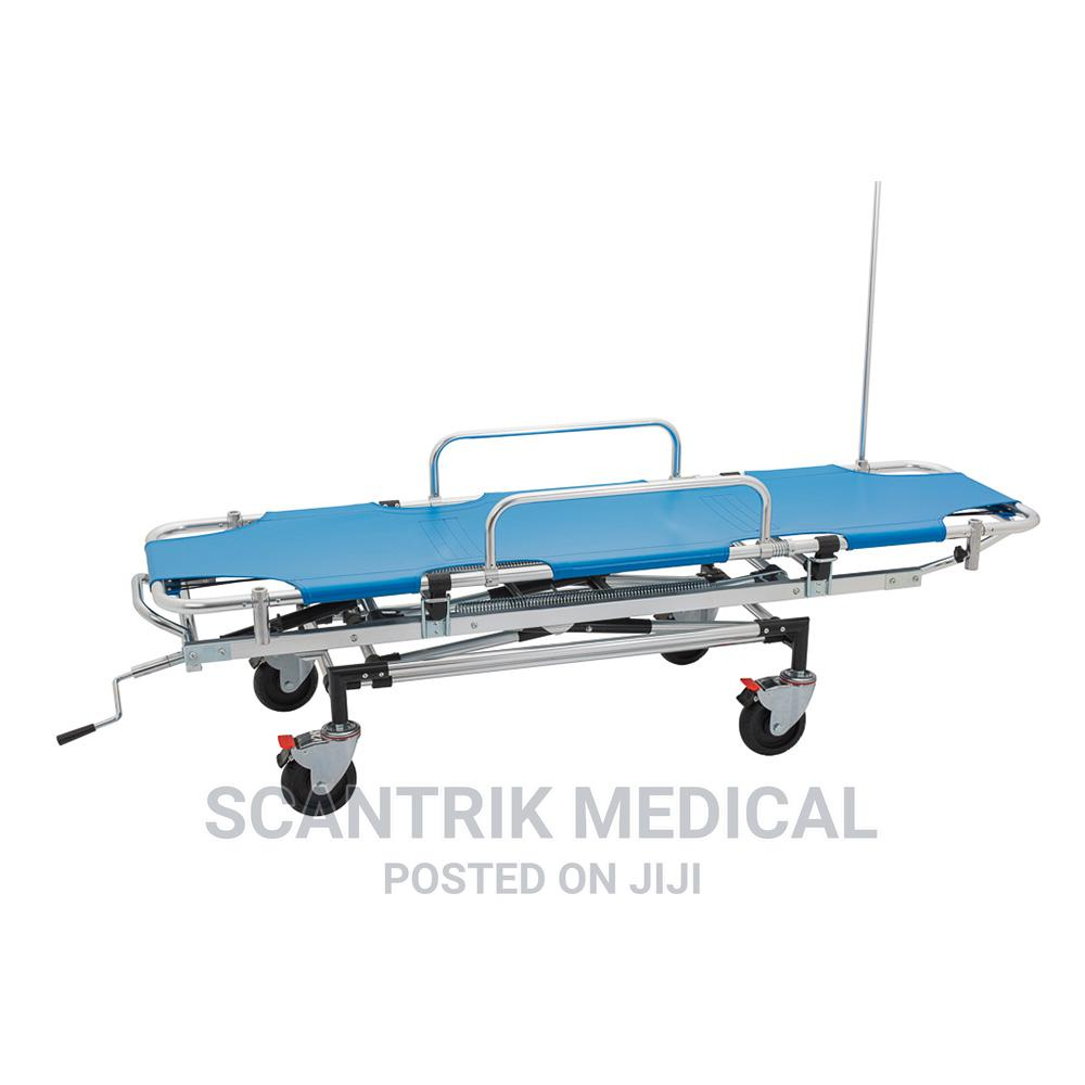 Multi-Functional First Aid Stretcher With Drip Stand
