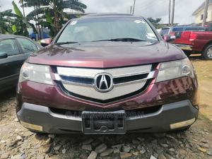 Acura MDX 2008 SUV 4dr AWD (3.7 6cyl 5A) Red | Cars for sale in Rivers State, Port-Harcourt