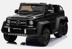 Mercedes Benz G63 6x6 Children'S Electric Ride on Jeep Black | Toys for sale in Lagos State, Lagos Island (Eko)