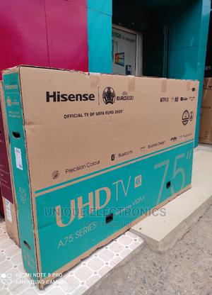 New One Hisense 75'inch UHD 4k SMART(Bluetooth+Netflix App)   TV & DVD Equipment for sale in Lagos State, Victoria Island