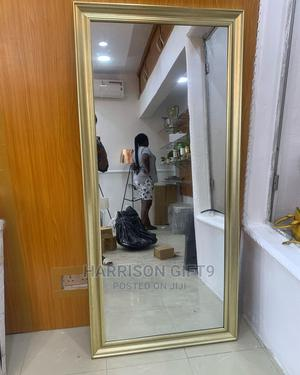 Standing Mirror With Gold Frame | Home Accessories for sale in Lagos State, Lekki