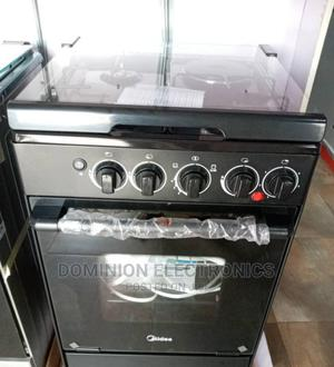 Brand New Midea Gas Cooker (3+1) Oven Automatic Blue Flame   Kitchen Appliances for sale in Lagos State, Ojo