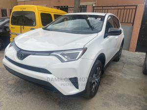 Toyota RAV4 2018 LE 4dr SUV (2.5L 4cyl 6A) White | Cars for sale in Lagos State, Yaba