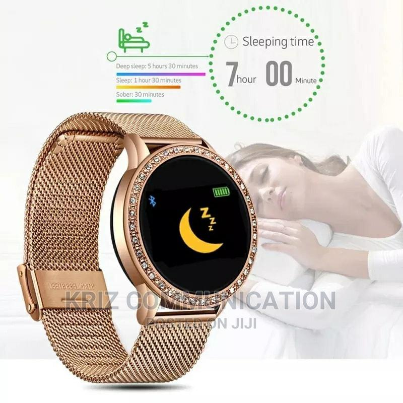 Noble Diamond Smart Waterproof Sports Fitness Tracker | Smart Watches & Trackers for sale in Ikeja, Lagos State, Nigeria