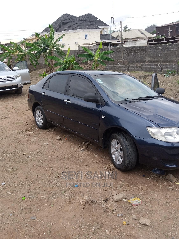 Archive: Toyota Corolla 2006 1.6 VVT-i Blue