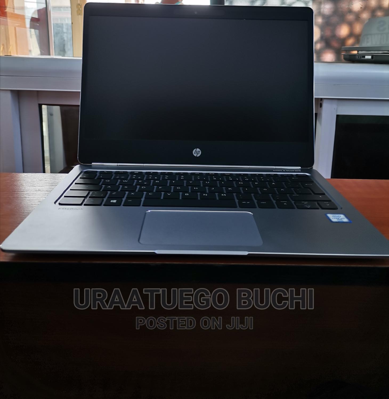 Laptop HP EliteBook Folio G1 8GB Intel Core I7 SSD 256GB   Laptops & Computers for sale in Ikeja, Lagos State, Nigeria
