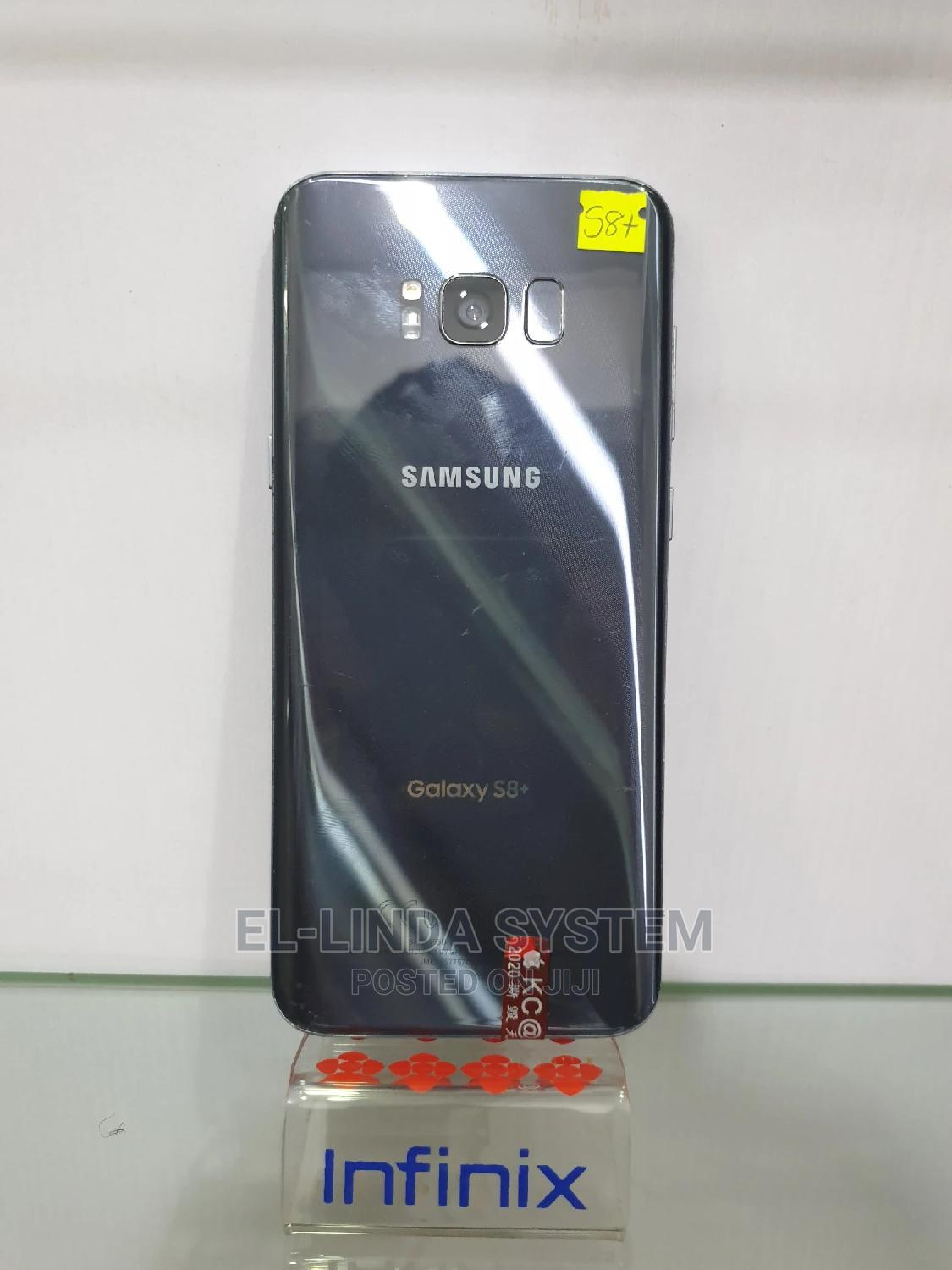 Samsung Galaxy S8 Plus 64 GB Gray   Mobile Phones for sale in Ikeja, Lagos State, Nigeria
