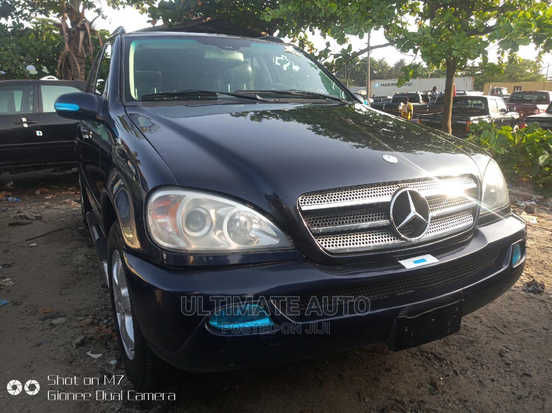Archive: Mercedes-Benz M Class 2003 ML 350 Blue