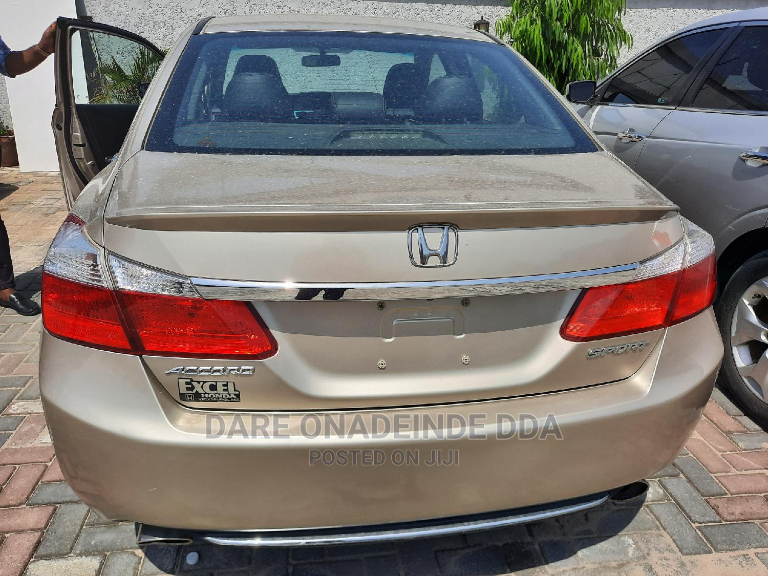 Honda Accord 2014 Gold