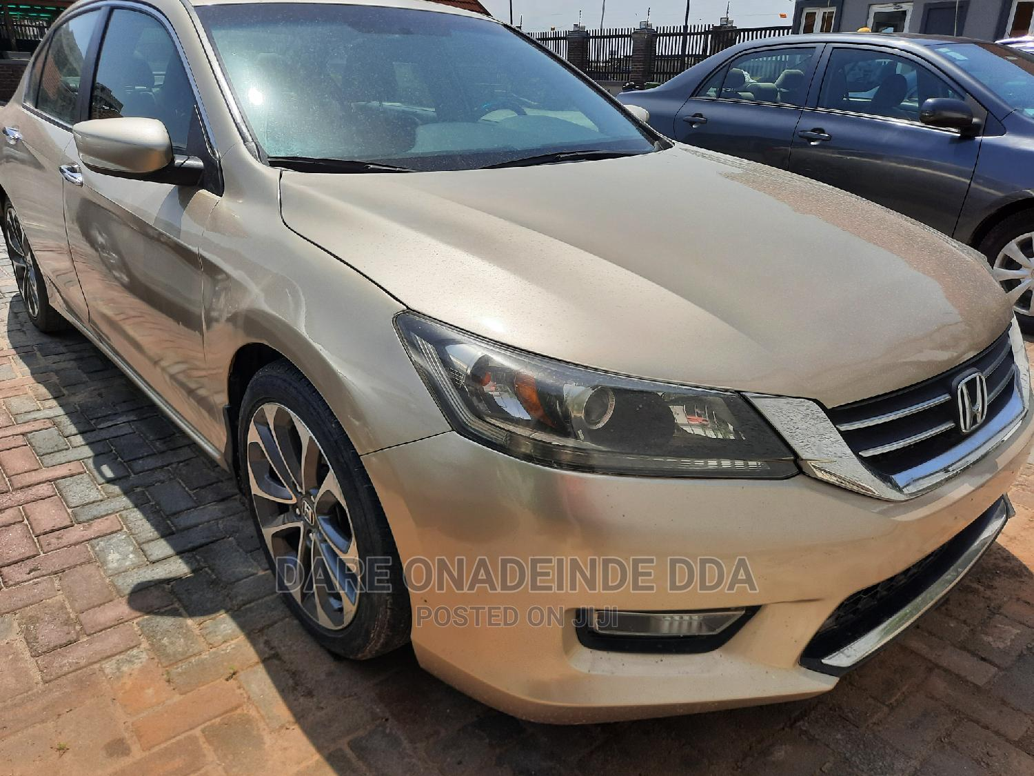 Honda Accord 2014 Gold | Cars for sale in Lekki, Lagos State, Nigeria