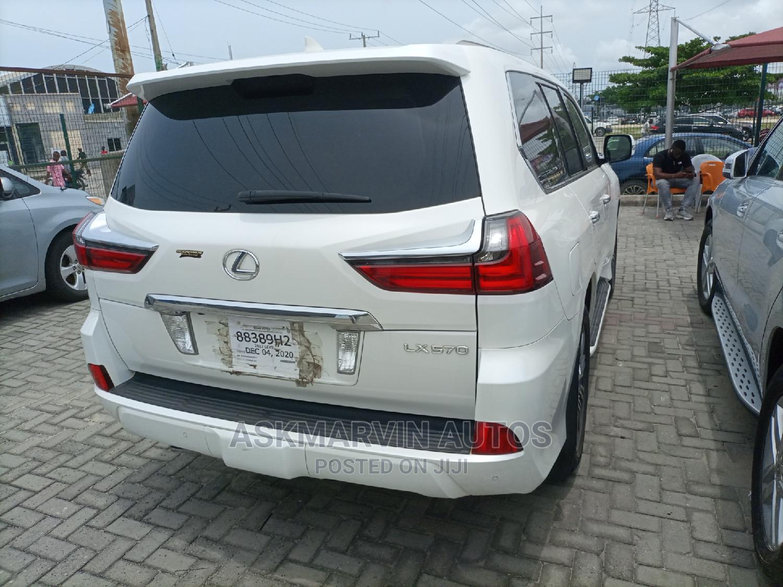 Lexus LX 2017 570 Base White   Cars for sale in Lekki, Lagos State, Nigeria
