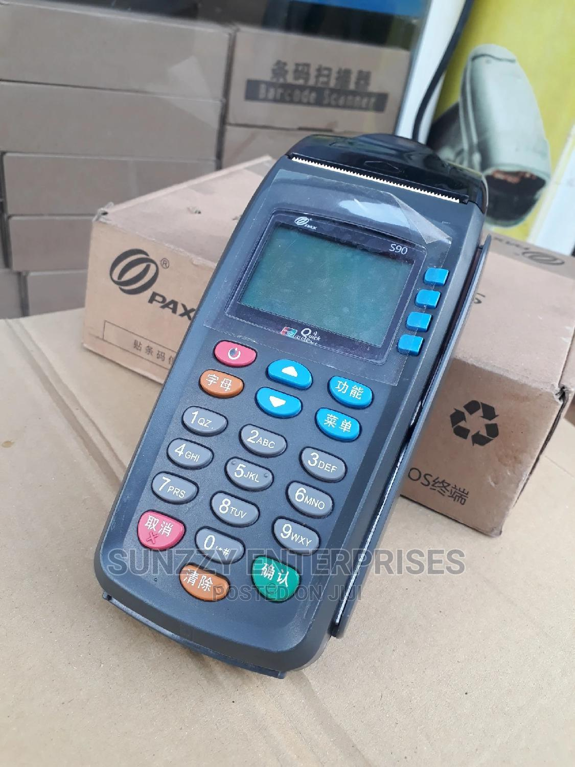Paxs90 Payment Pos Machine - Not Programed | Store Equipment for sale in Ikeja, Lagos State, Nigeria