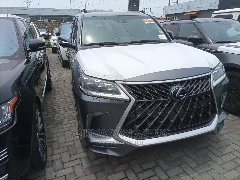 Lexus LX 2016 570 Base Gray | Cars for sale in Lekki, Lagos State, Nigeria