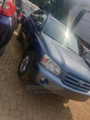 Toyota Highlander 2005 Blue | Cars for sale in Lagos State, Isolo