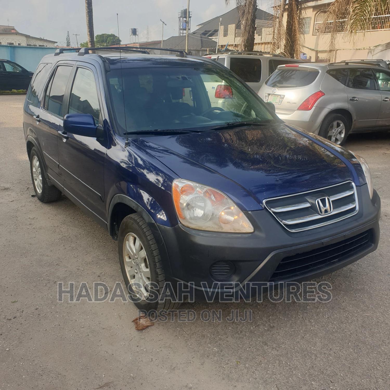 Honda CR-V 2005 Automatic Blue | Cars for sale in Amuwo-Odofin, Lagos State, Nigeria