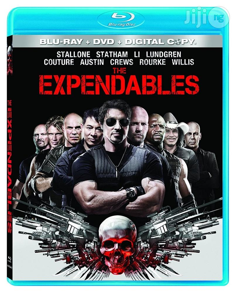 Archive: Original New The Expendables [Blu-ray + DVD + Digital Copy]