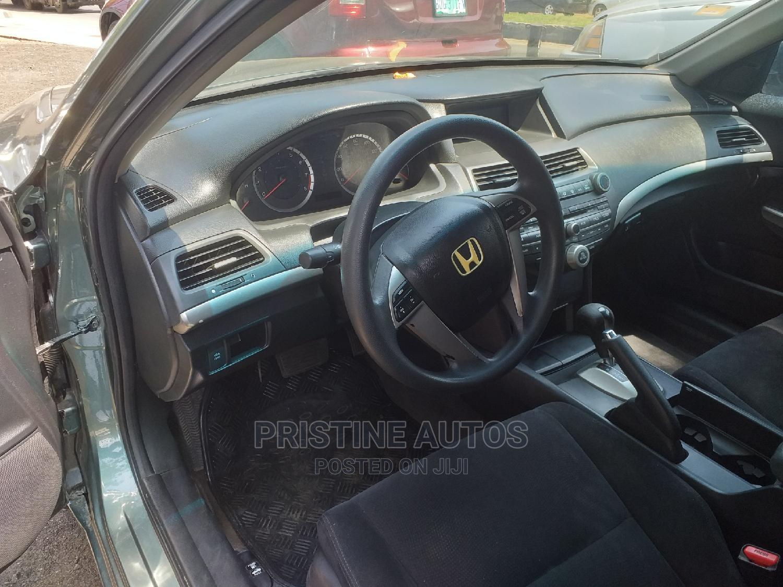 Honda Accord 2008 2.0i-Vtec Executive Green | Cars for sale in Surulere, Lagos State, Nigeria
