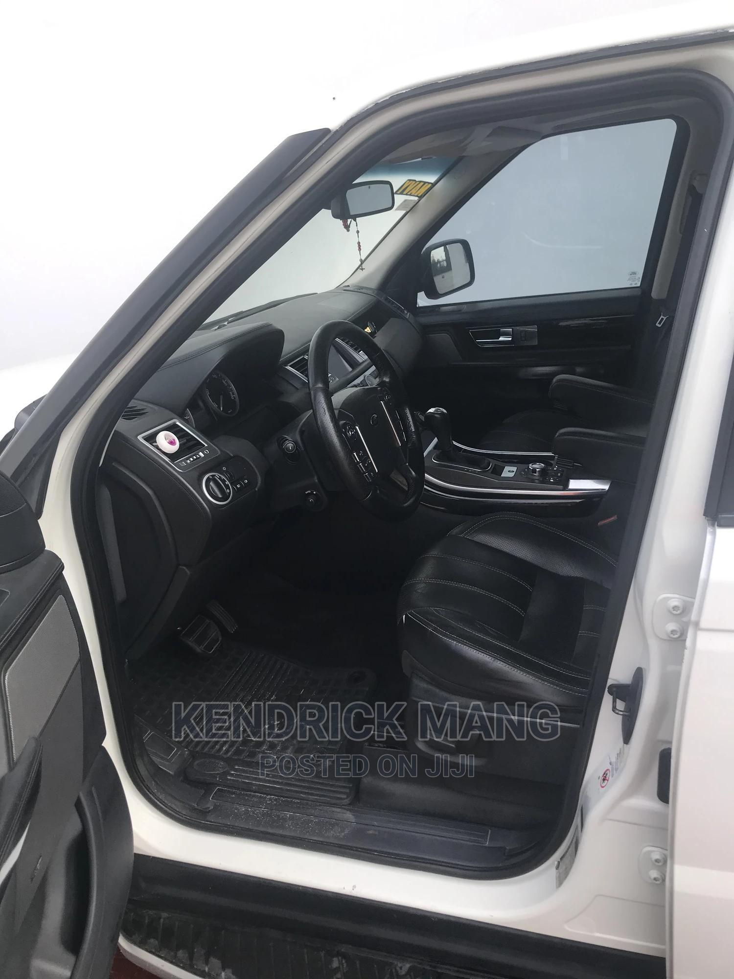 Land Rover Range Rover Sport 2012 White   Cars for sale in Lekki, Lagos State, Nigeria