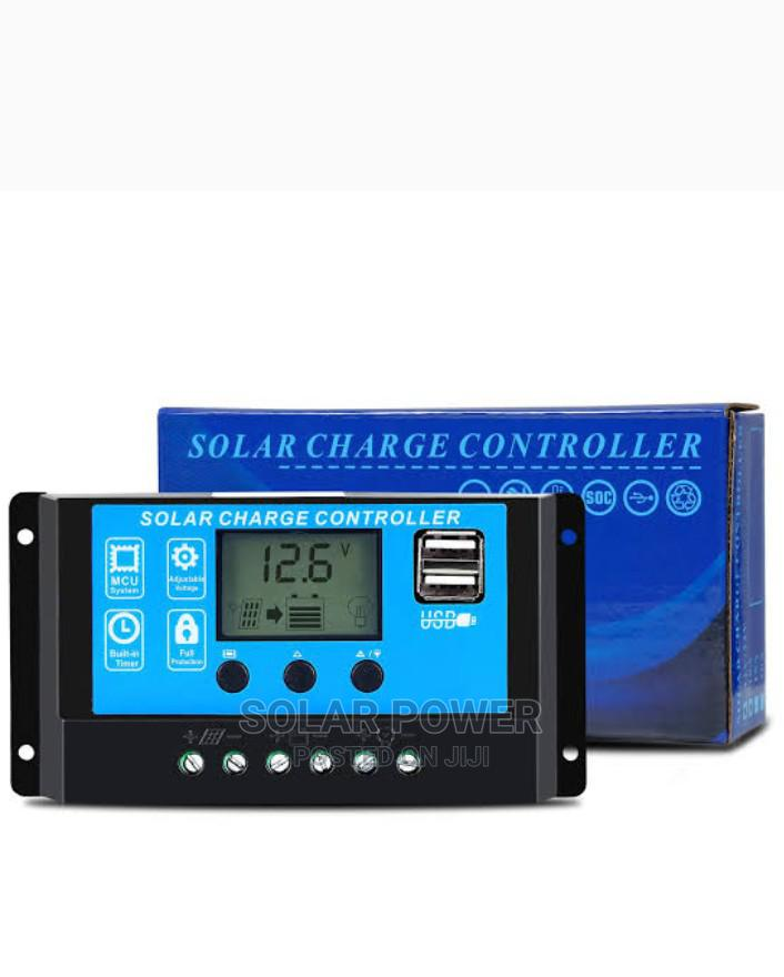 Pwm Charge Controller 30ah