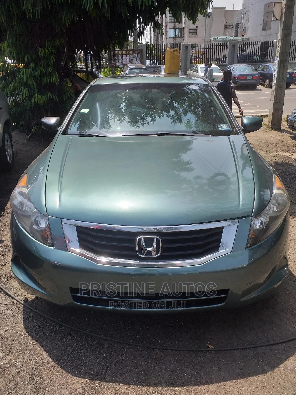 Honda Accord 2008 2.0i-Vtec Executive Green
