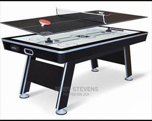 2in 1 Winger Air Hockey With Table Tennis Top | Sports Equipment for sale in Lagos State, Surulere