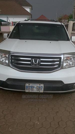 Honda Pilot 2013 White   Cars for sale in Lagos State, Ejigbo