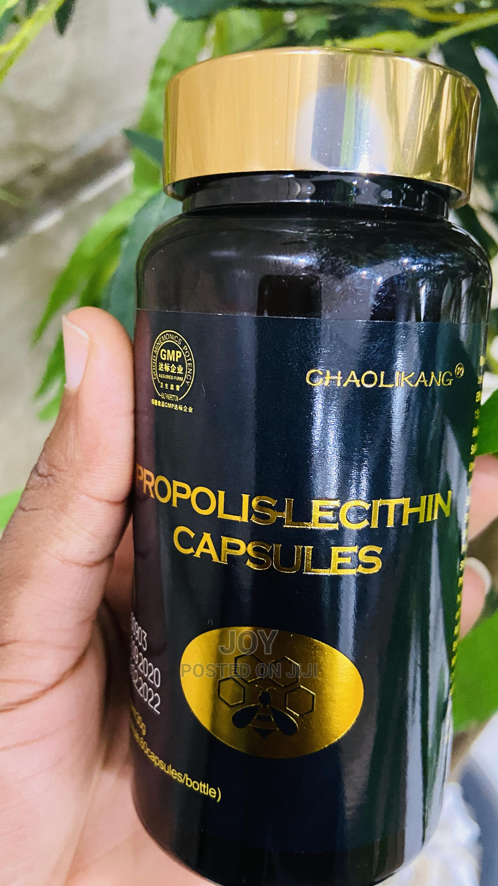 Propolis Lecithin Capsule for Lungs Infection