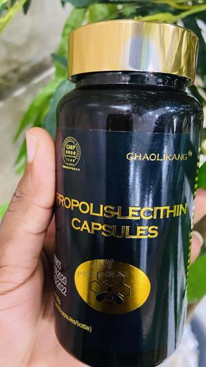 Propolis Lecithin Capsule for Lungs Infection | Vitamins & Supplements for sale in Lagos State, Ikeja