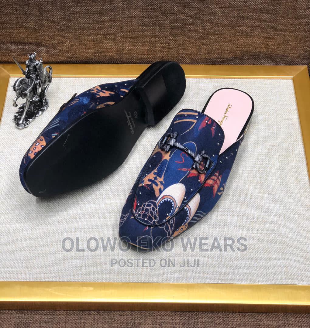 Archive: Salvatore Ferragamo Half Shoe
