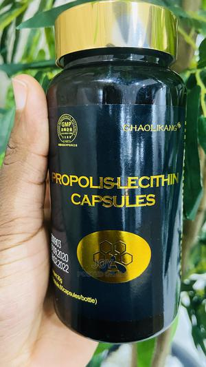 Propolis Lecithin Capsule for Tumor, Cancer Lungs Infection | Vitamins & Supplements for sale in Lagos State, Amuwo-Odofin