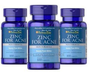 Puritan's Pride Zinc for Acne | Vitamins & Supplements for sale in Lagos State, Amuwo-Odofin