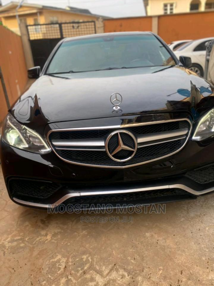 Mercedes-Benz E350 2015 Black   Cars for sale in Alimosho, Lagos State, Nigeria